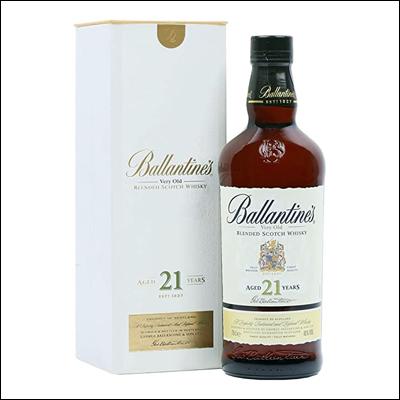 Ballantine's 21 Años - La Bodega Roja. Bebidas Premium al mejor precio.