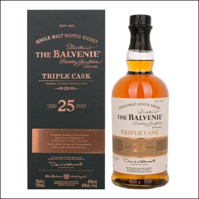Balvenie 25 Años Triple Cask - La Bodega Roja. Bebidas Premium