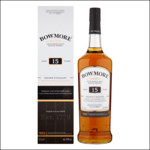 Bowmore 15 años Gold & Elegant - La Bodega Roja. Bebidas Premium