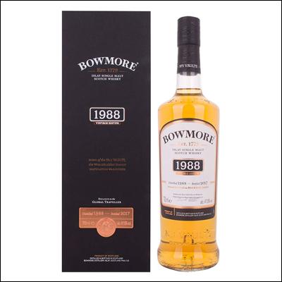 Bowmore 1988 Vintage Edition - La Bodega Roja. Bebidas Premium