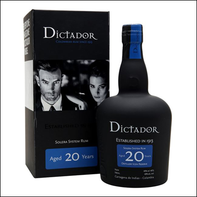 Dictador 20 años - La Bodega Roja. Bebidas Premium al mejor precio.