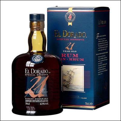 El Dorado 21 Años - La Bodega Roja. Bebidas Premium al mejor precio.