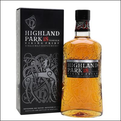 Highland Park 18 años Viking Pride - La Bodega Roja. Bebidas Premium