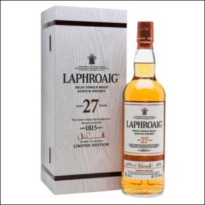 Laphroaig 27 años Single Malt - La Bodega Roja. Bebidas Premium