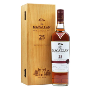 The Macallan 25 Años Sherry Oak - La Bodega Roja. Bebidas Premium