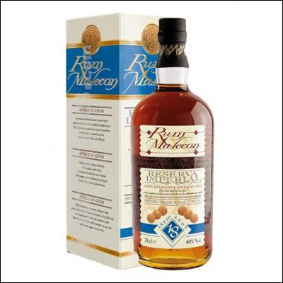 Malecon 18 Años Reserva Imperial - La Bodega Roja. Bebidas Premium