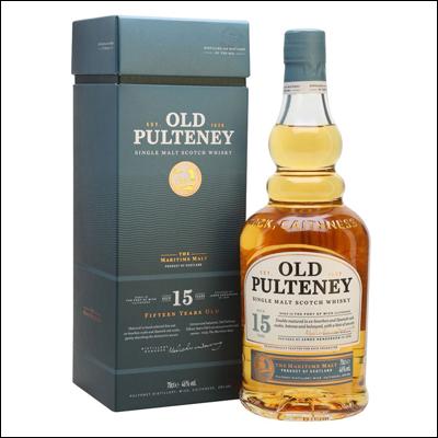 Old Pulteney 15 años - La Bodega Roja. Bebidas Premium al mejor precio.