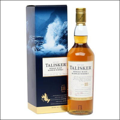 Talisker 18 años - La Bodega Roja. Bebidas Premium al mejor precio.