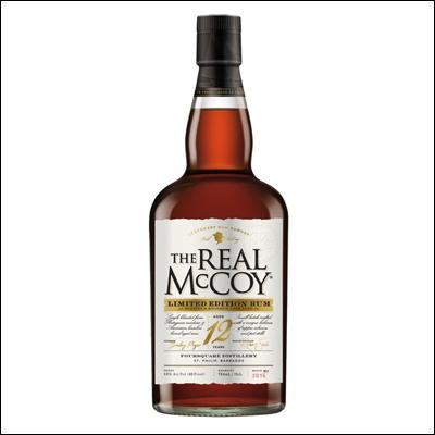The Real McCoy 12 Años - La Bodega Roja. Bebidas Premium