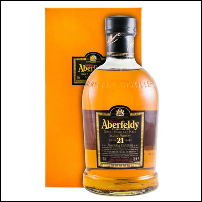 Aberfeldy 21 Años - La Bodega Roja. Bebidas Premium al mejor precio.