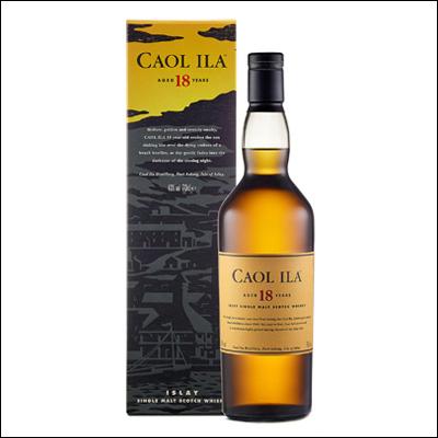 Whisky Caol Ila 18 Años - La Bodega Roja. Bebidas Premium