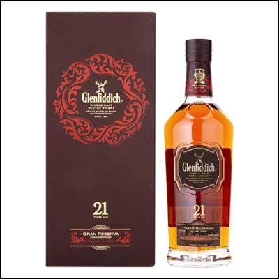 Glenfiddich 21 Años - La Bodega Roja. Bebidas Premium al mejor precio.
