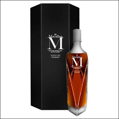 Whisky Macallan M. Decanter - La Bodega Roja. Bebidas Premium.