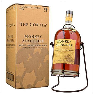 Monkey Shoulder Gorilla - La Bodega Roja. Bebidas Premium.
