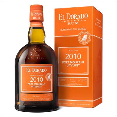 Ron El Dorado 2010 Port Mourant Uitvlugt Rum - La Bodega Roja.