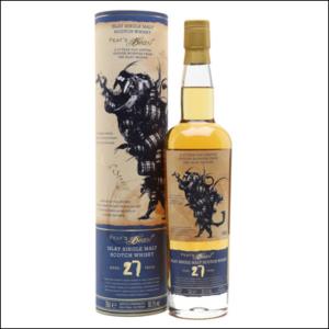 Whisky Peats Beats 27 Años Single Malt - La Bodega Roja.