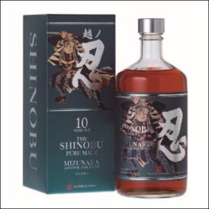 Whisky Shinobu 10 Años Mizunara OAK Finish - La Bodega Roja.