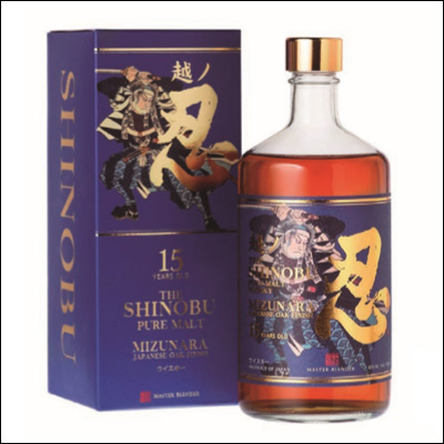 Whisky Shinobu 15 Años Mizunara OAK Finish - La Bodega Roja.