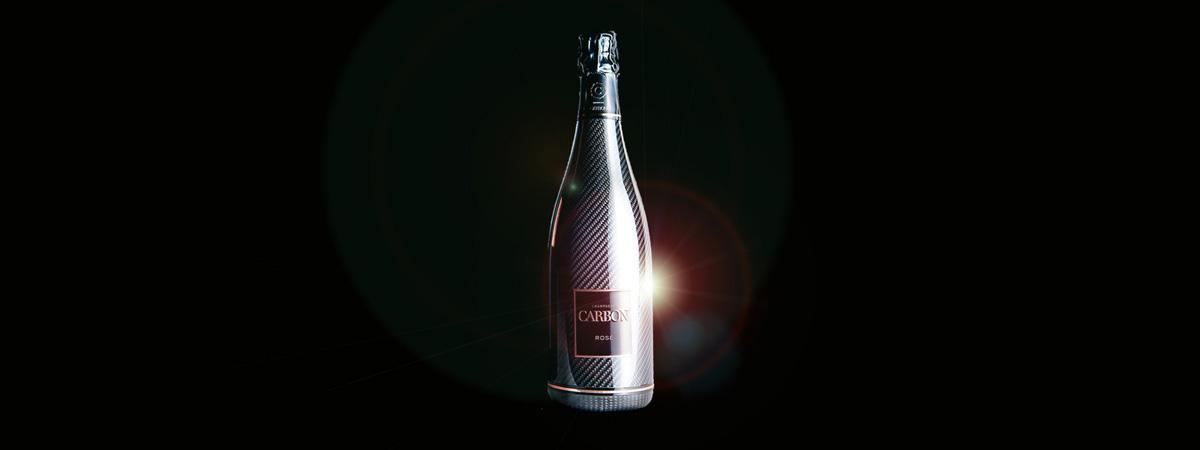 Champagne Carbon Rosé. La Bodega Roja
