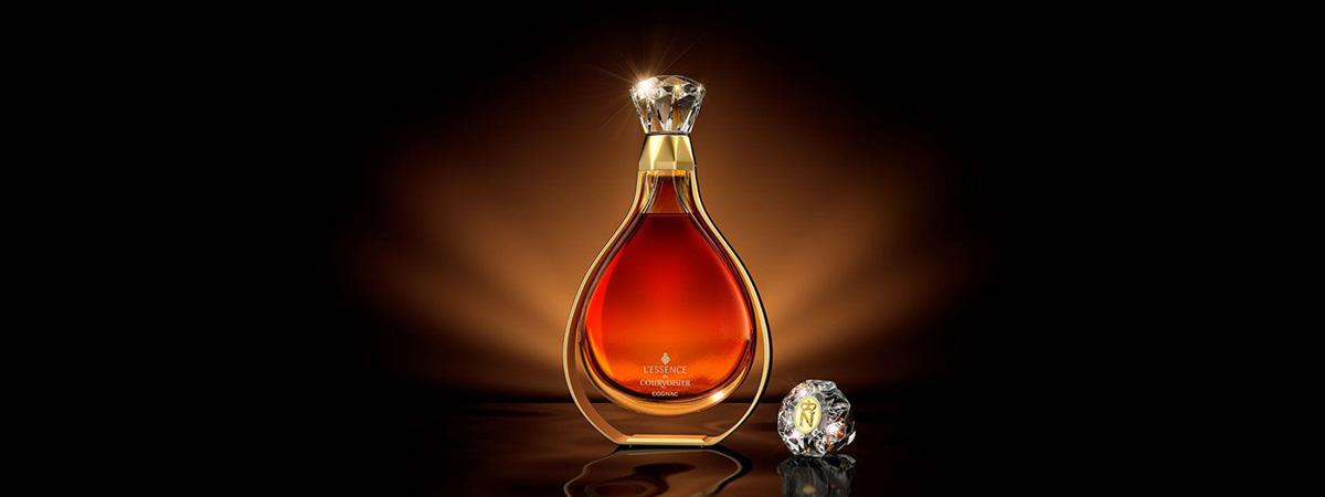 Cognac Courvoisier L'essence. La Bodega Roja