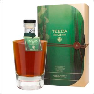 Ron Japonés Teeda 21 Años - La Bodega Roja Bebidas Premium