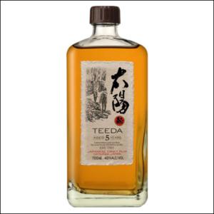 Ron Japonés Teeda 5 Años - La Bodega Roja Bebidas Premium